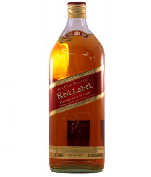 Johnnie Walker Red Label Blended Scotch 1.75L