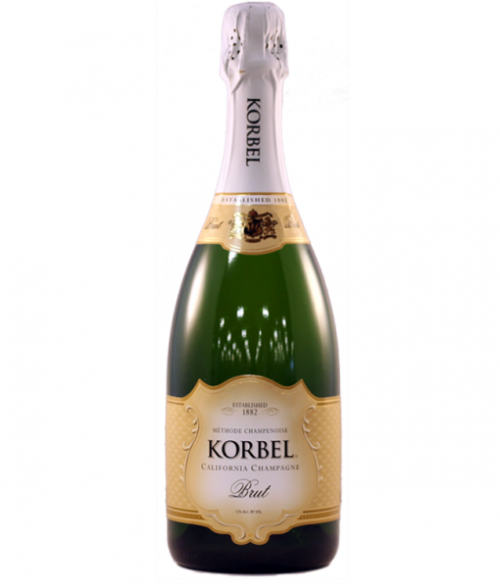 Korbel Brut California Champagne 750ml NV