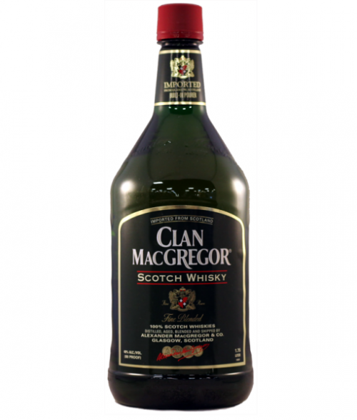 Clan MacGregor Blended Scotch 1.75L