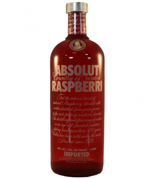 Absolut Raspberri Vodka 1L