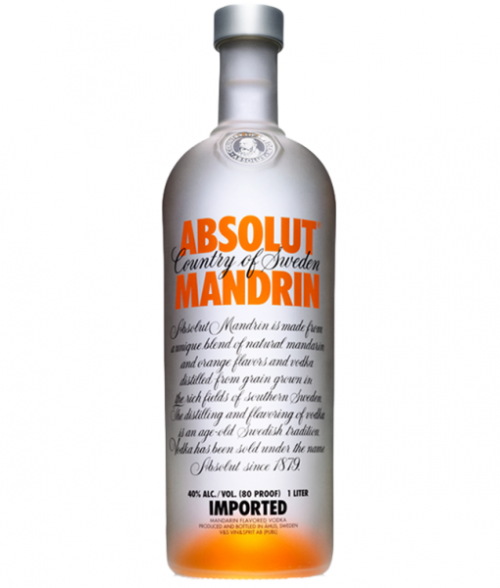 Absolut Mandarin Vodka 1L