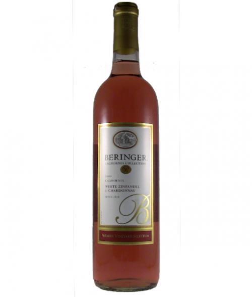 Beringer PVS White Zinfandel/Chardonnay 750ml NV