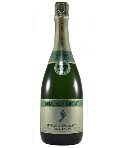 Barefoot Bubbly Moscato 750ml NV