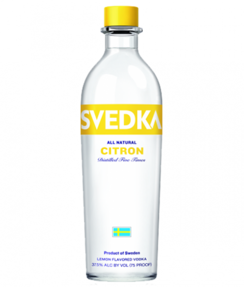 Svedka Citron Vodka 1L