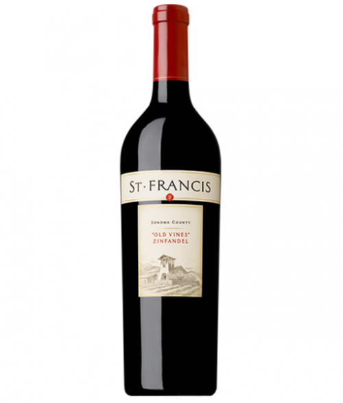 2017 St. Francis Old Vines Zinfandel 750ml