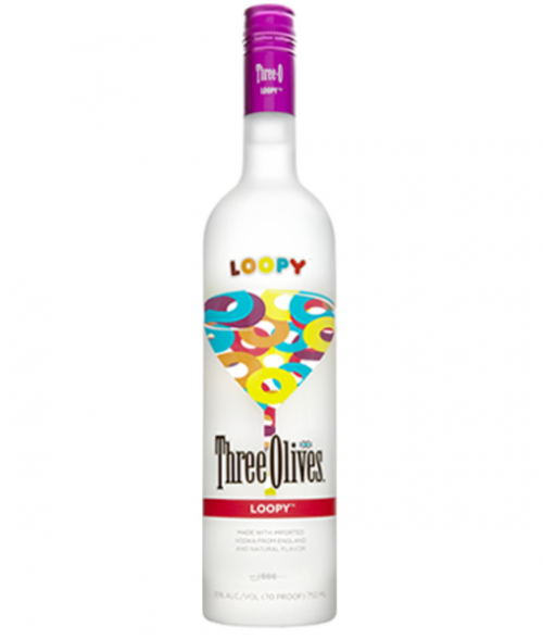 Three Olives Loopy Vodka 1L