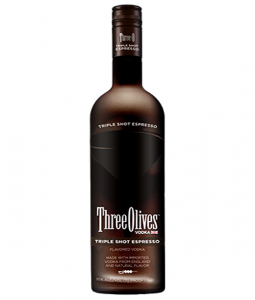 Three Olives Triple Shot Espresso Vodka 1L