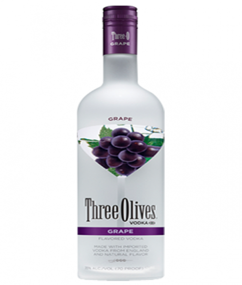 Three Olives Grape Vodka 1.75L