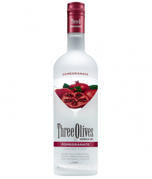 Three Olives Pomegranate Vodka 1L