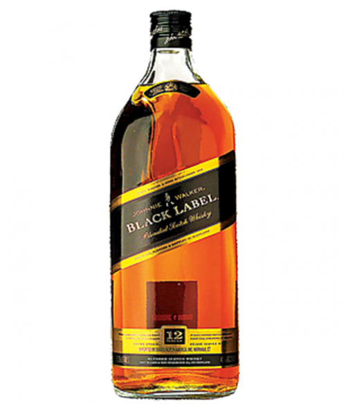 Johnnie Walker Black Label Blended Scotch 1.75L