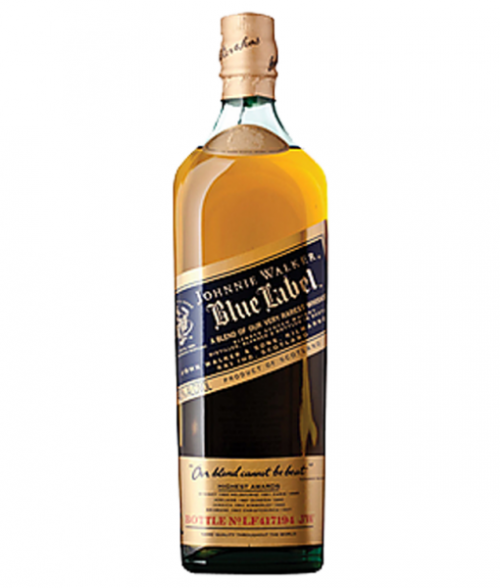 Johnnie Walker Blue Label Blended Scotch 750Ml