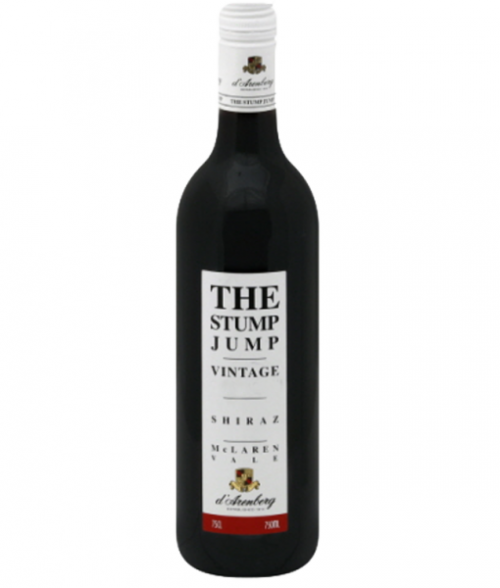 2016 d'Arenberg Stump Jump Shiraz 750Ml