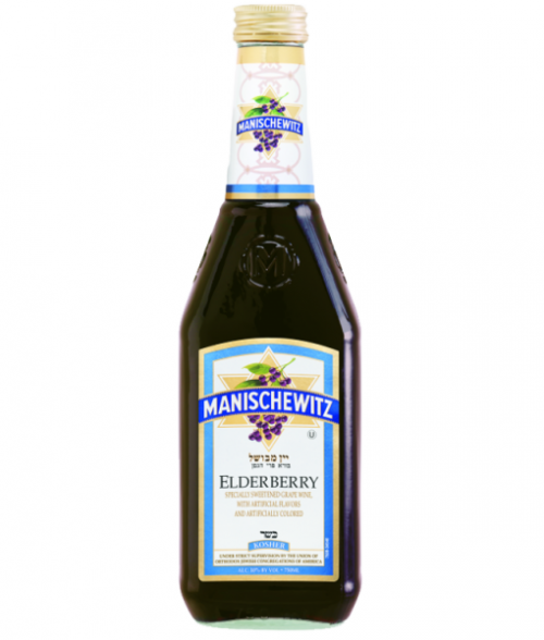 Manischewitz Elderberry Wine Nv