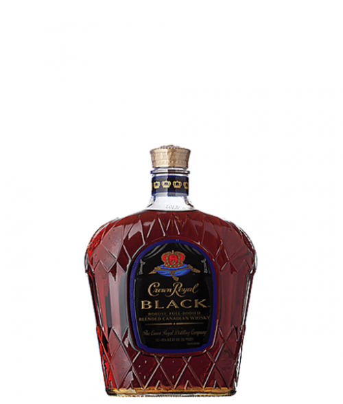Crown Royal Black Canadian Whisky 1L