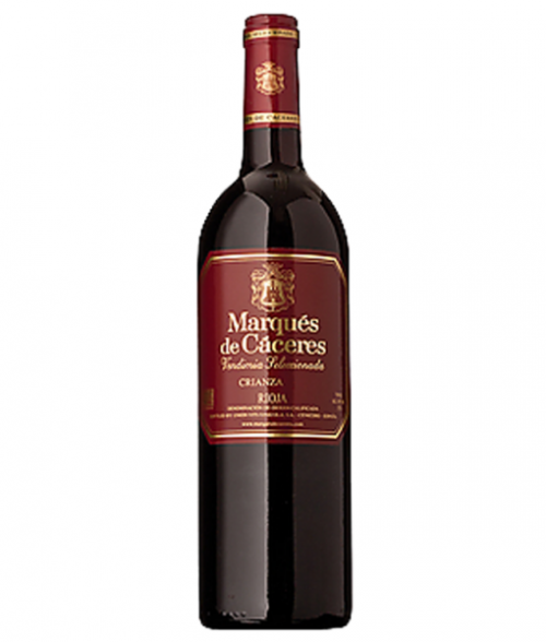 2015 Marques De Caceres Red Crianza 750ml
