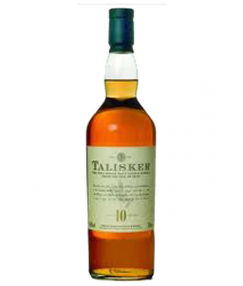 Talisker 10Yr Islay Single Malt Scotch 750ml