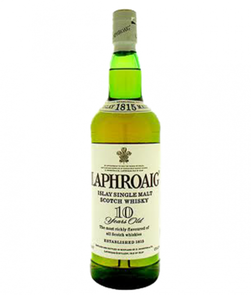 Laphroaig 10Yr Islay Single Malt Scotch Whisky 750Ml
