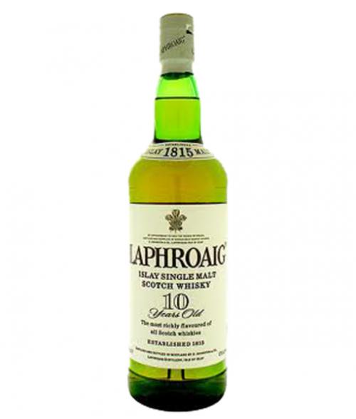 Laphroaig 10Yr Islay Single Malt Scotch Whisky 750ml