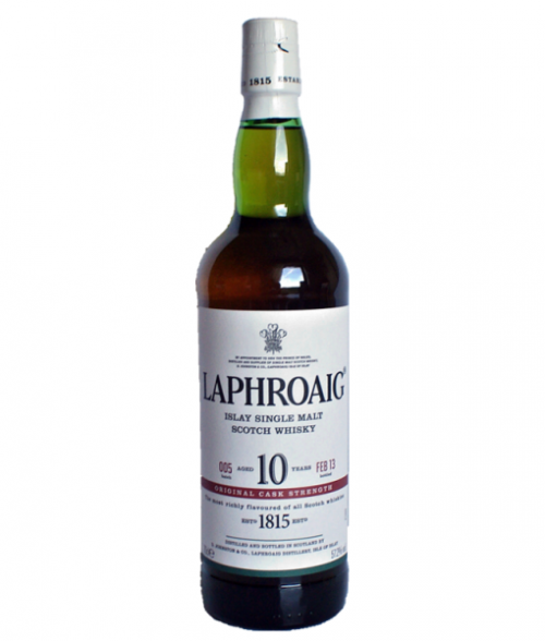 Laphroaig 10Yr Cask Strength Islay Single Malt