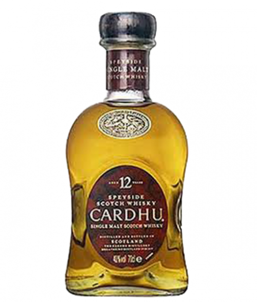 Cardhu 12Yr Speyside Single Malt Scotch 750Ml
