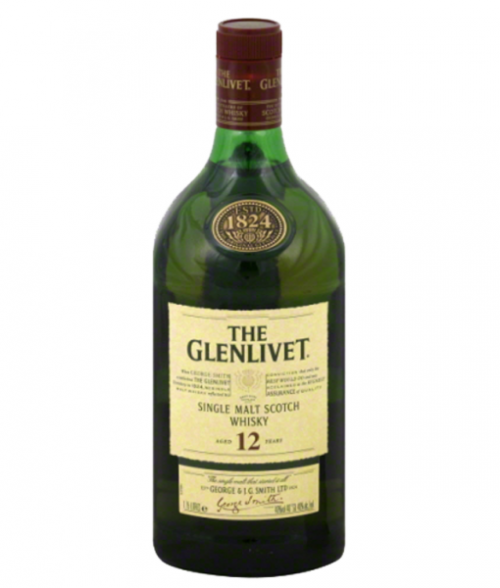 Glenlivet 12Yr Single Malt Scotch 1.75L