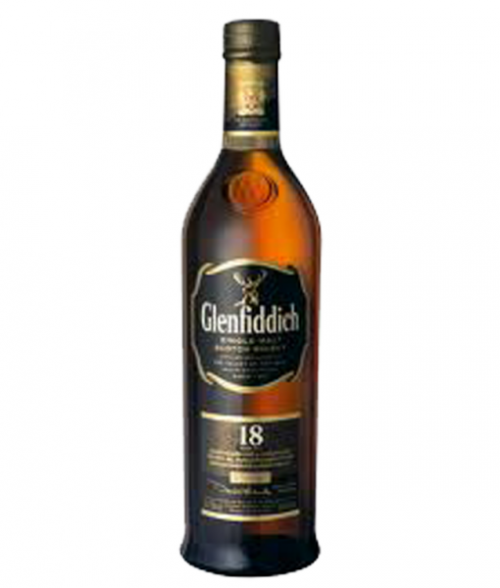 Glenfiddich 18Yr Single Malt Scotch 750ml