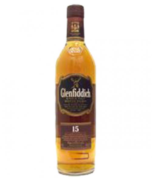Glenfiddich 15Yr Single Malt Scotch 750ml