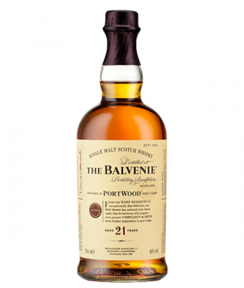 Balvenie 21Yr Portwood Single Malt Scotch 750ml