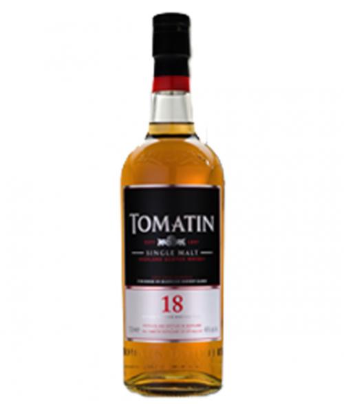 Tomatin 18Yr Highland Single Malt Scotch 750ml
