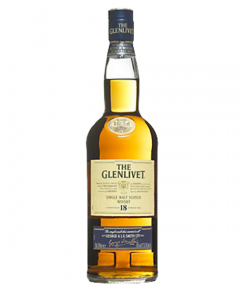 Glenlivet 18Yr Single Malt Scotch 750ml