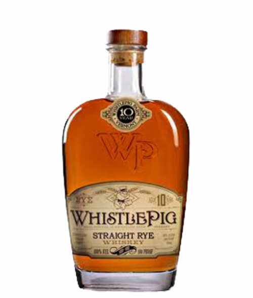 Whistle Pig 10Yr Straight Rye Whiskey 750ml