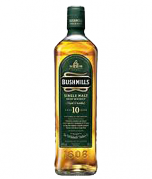 Bushmills 10Yr Single Malt Irish Whiskey 750ml