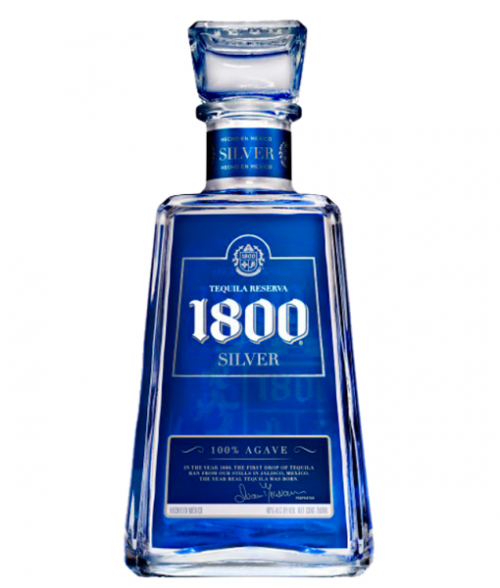 1800 Silver Tequila 1L