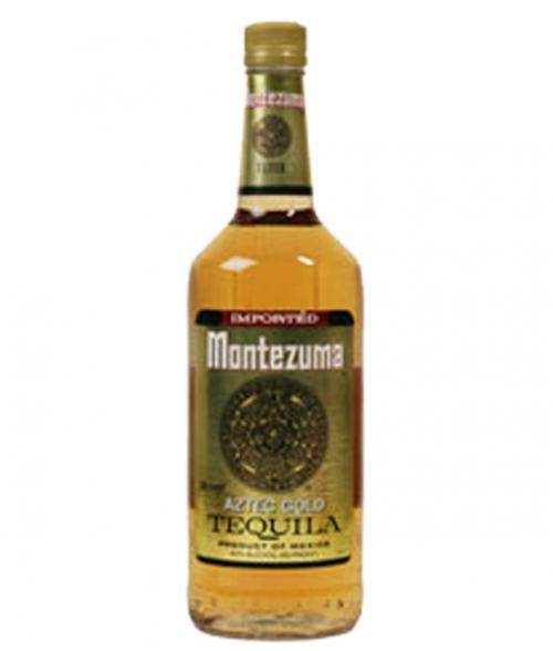 Montezuma Gold Tequila 1L