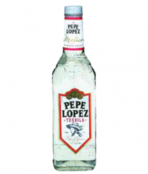 Pepe Lopez Silver Tequila 1L