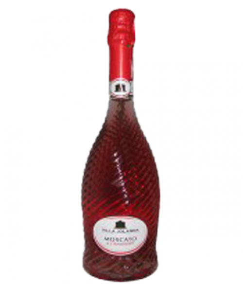 Villas Jolanda Moscato & Strawberry 750Ml NV