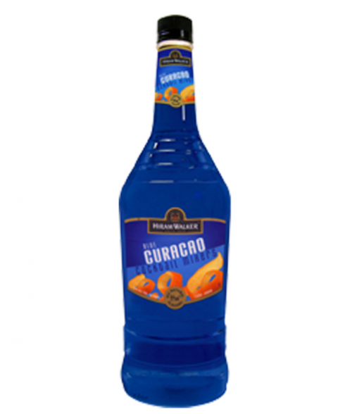 Hiram Walker Blue Curacao 1L