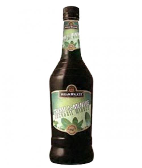 Hiram Walker Crème De Menthe Green 1L
