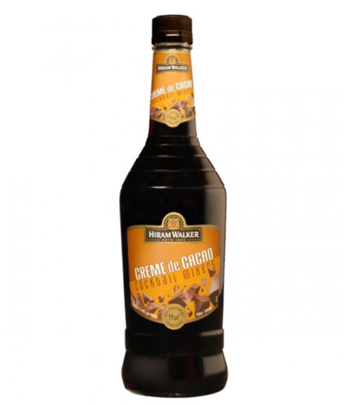 Hiram Walker Dark Crème De Cacao 1L