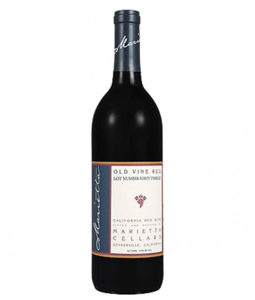 Marietta Old Vine Red 750Ml NV