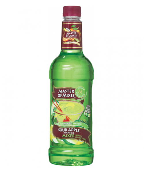 Master Of Mixes Sour Apple 1L