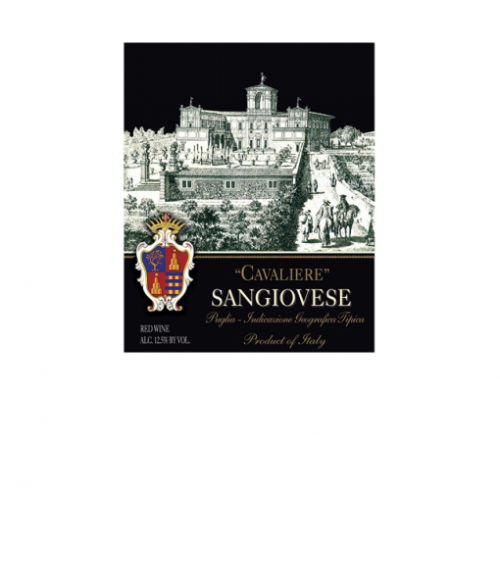 2018 Cavaliere Sangiovese 750ml