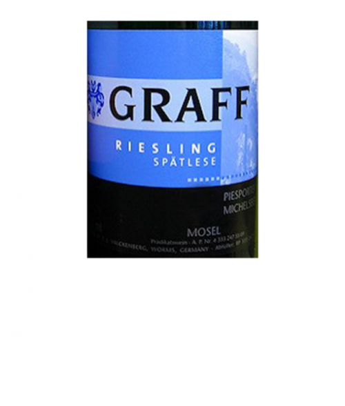 2016 Graff Spatlese Piesporter Riesling