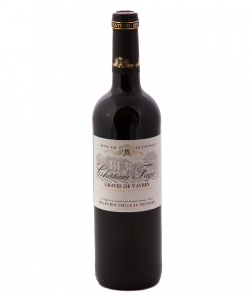 2016 Chateau Fage Graves De Vayres Rouge 750ml