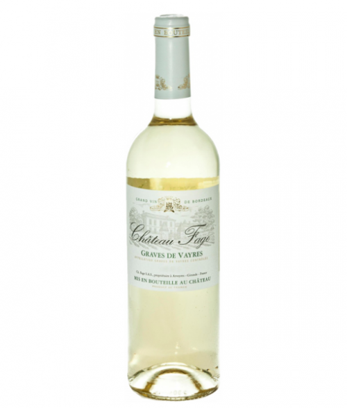 2017 Chateau Fage Graves Devayres Blanc 750Ml