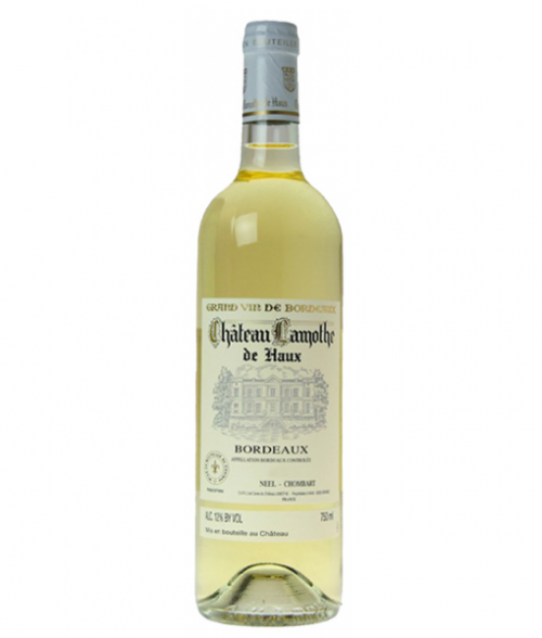 2018 Chateau Lamothe White De Haux 750ml