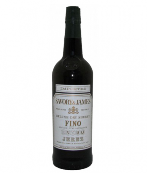 Savory & James Fino Sherry 750ml NV