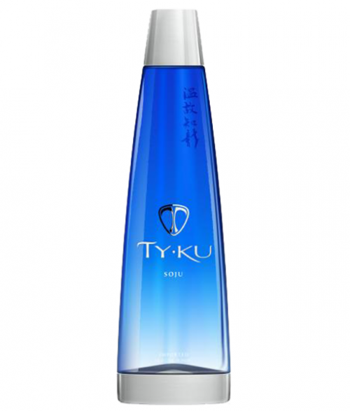 Ty-Ku Soju Blue Bottle 750Ml