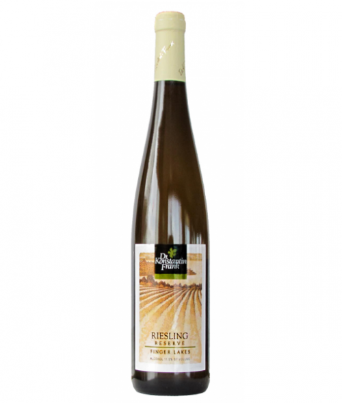 2017 Dr Frank Reserve Riesling 750Ml