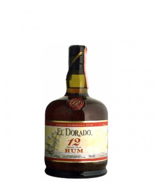 El Dorado 12Yr Rum 750ml